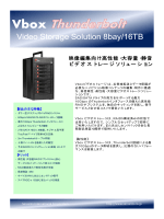 Video Storage Solution 8bay/16TB
