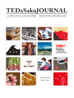 2014 TEDxSaku JOURNAL