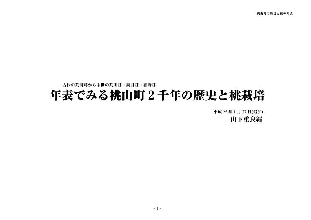 桃山町 - syamashita.net