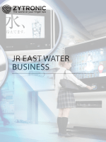 JR EAST WATER BUSINESS