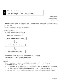 Red Hat Enterprise Linux 5 インストールガイド