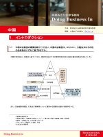 Doing Business In 中国