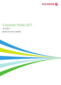 Corporate Profile 2016