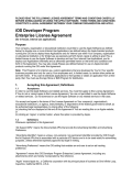 iOS Developer Program Enterprise License