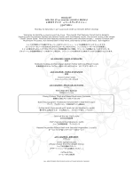 AUGUST MA DU ZI 4-course LUNCH MENU 550THB