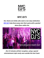 Party DJ For Hire in los angeles By NYC DJ'S
