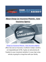 Call Us @ (480) 405-4779 | Cheap Auto Insurance In Phoenix AZ