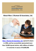 Marc J Shuman Personal Injury Lawyer Chicago, IL