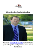 Sterling Reality & Lending Real Estate Agent in Burbank, CA