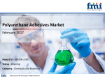 Polyurethane Adhesives Market Global Industry Analysis, size, share and Forecast 2016-2026