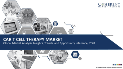 Global CAR T Cell Therapy Market to Reach US$ 8.5 Billion by 2028 : Coherent Market Insights