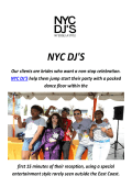 NYC Local DJ'S in Los Angeles, CA