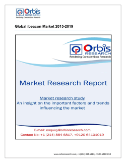 Global ibeacon Market by 2019