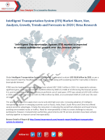 Intelligent Transportation System Market Insights, 2020: Hexa Research