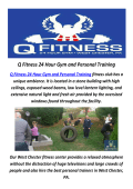 Q Fitness 24 Hour Gym and Personal Training in West Chester, PA