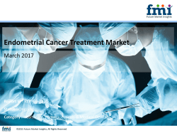 Endometrial Cancer Treatment Market Great Impact In Near Future by 2027