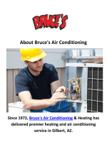 Bruce's AC Repair in Gilbert, AZ
