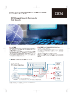 IBM Managed Security Services for Web Security