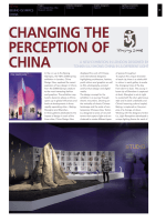 CHANGING THE PERCEPTION OF CHINA