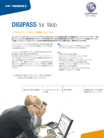 DIGIPASS for Web - VASCO Data Security