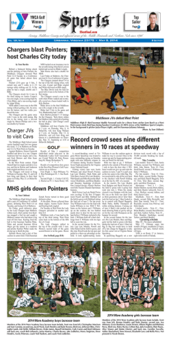 05.08.14 Section B - Southside Sentinel