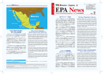 EPA News No. 2 - Mexico Trade and Investment