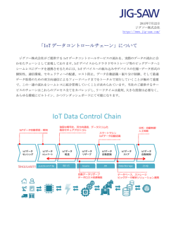 IoT Data Control Chain - JIG