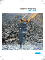 Sandvik Breakers BA2424(PDF:1.1MB)
