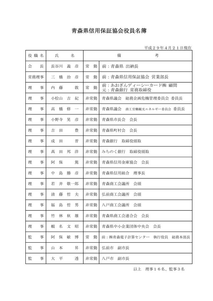 信用 協会 保証 県 青森