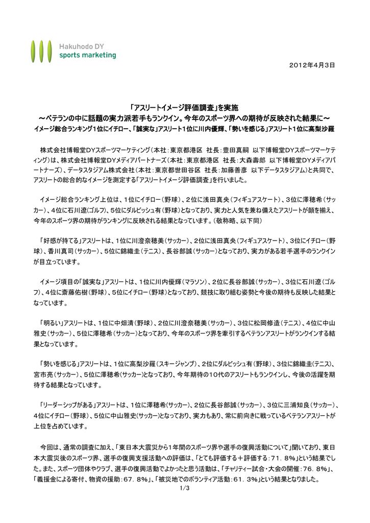 博報堂 スポーツ マーケティング