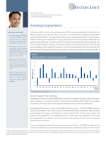 Rethinking Emerging Markets