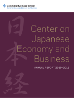 Center on Japanese Economy and Business