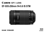 EF-S55-250mm f/4-5.6 IS STM 使用説明書