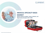 Medical Specialty Bags Market - Industry Analysis, Size, Share, Growth, Trends and Forecast to 2025