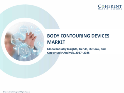 Body Contouring Devices Market - Industry Analysis, Size, Share, Growth, Trends and Forecast to 2025