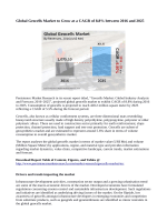 Geocells Market Anticipated to Reach 428.2 Million Square meter By 2025