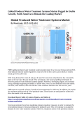 Produced Water Treatment Systems Market Anticipated to Reach US$ 6 Billion By 2020