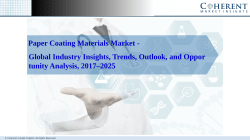 Paper Coating Materials Market
