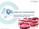 Cell Culture Market, By Product Type, Application, End User, and Geography - Trends, Analysis and Forecast till 2024