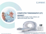 Computed Tomography Market by product type, application, and end-user - Opportunity Analysis, 2025