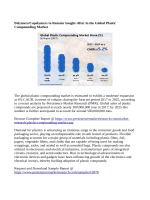 Plastic Compounding Market Expected to Reach 500,000,000 Tons In Terms Of Volume By 2025