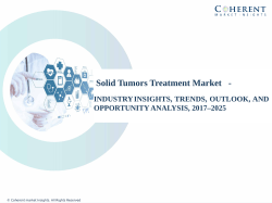 solid tumors treatment market