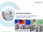 Biobank Market by product type, and end-user - Global Industry Insights, Size, Share, Trends, 2025