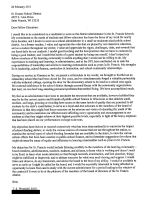 Thomas Woznicki Employment Application Letters (February 2011 - September 2013)