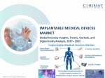 Implantable Medical Devices Market, By Product Type, By Application - Outlook, and Opportunity Analysis, 2025