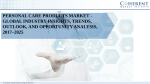 Personal Care Products Market - Global Industry Insights, Trends, Outlook, and Opportunity Analysis, 2017–2025