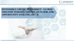 Renewable Chemicals Market - Global Industry Insights, Trends, Outlook, and Opportunity Analysis, 2017-25