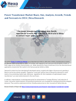 Power Transformer Market size