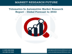 Telematics In Automotive Market Research Report - Forecast to 2022