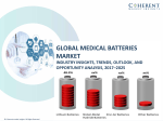 Medical Batteries Market to Surpass US$ 3,574.9 Million Threshold by 2025 globally